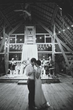 Barn Wedding Dancing
