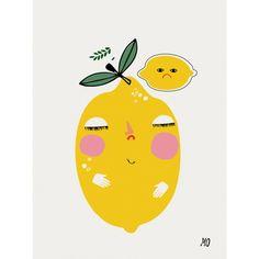 Bitter Lemons Print