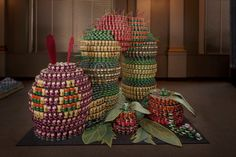 "This ""(Not So) Hungry Caterpillar"" will help feed many families this year! 2,928 cans worth to the Los Angeles area. Love the nod to a childhood favorite! Canstruction.org #Canstruction #CanDo #ArtMeetsCharity #Childhood #ChowDown #FeedingFamilies"