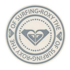 ROXY Surfs Up Sticker ($2.99) ❤ liked on Polyvore