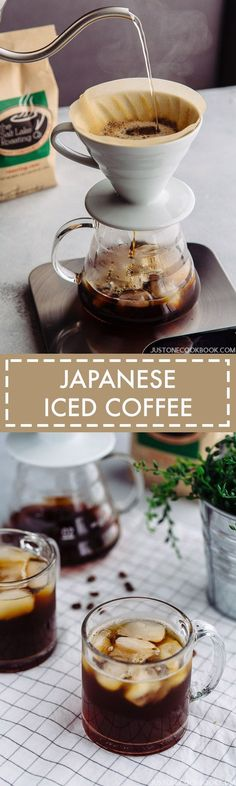 If you love iced coffee, then you must try Japanese Iced Coffee. Enjoy all the wonderful flavors and aromatics from the beans.
