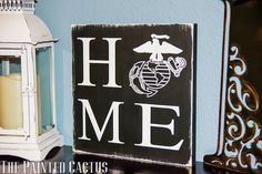 Hey, I found this really awesome Etsy listing at https://www.etsy.com/listing/262676666/marine-corps-home-sign