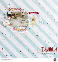 ABCDELI: 2 Christmas Layouts