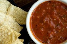 The Best Salsa You'll Ever Have  (Just 3 Ingredients!)