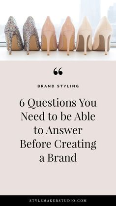 What You Need to Do Before Creating a Brand // Style Maker Studio -- Personal Branding, Marca Personal, Corporate Design, Branding Design, Branding Ideas, Logo Design, Build Your Brand, Creating A Brand, Business Branding