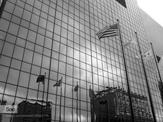Chicago Reflections 2 - Pinned by Mak Khalaf City and Architecture ChicagoCityscapeFlagsReflectionsUnited States by PSilvaCarreira