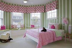 Dormitorios Infantiles Decorados con Verde