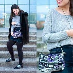 This is the rhythm of the glitter! - Temporada: Otoño-Invierno - Tags: mimalditadulzura, fashionblogger, ootd, fashion, look, outfit -  #FashionOlé