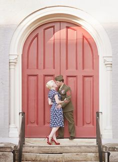 vintage military wedding/engagement inspiration