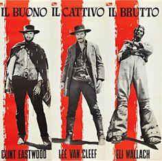 The-Good-The-Bad-and-The-Ugly-Italian-Poster-T-Shirt-Movie-Film-Tee-2-13-Sizes
