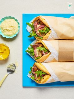 This Yorkshire Pudding Wrap makes a quick and tasty, slimming-friendly lunch whether you're counting calories or following a diet plan like Weight Watchers.