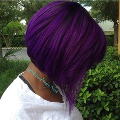 This color by @missprettynish is purple perfection! #VoiceOfHair ========================= Go to VoiceOfHair.com ========================= Find hairstyles and hair tips! =========================