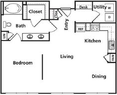 Go For a Small or Large Loft? — Good Questions (island in kitchen stack washer dryer mb bth