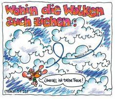 """""""Wohin die #Wolken auch ziehen: #überall ist deine #Treue!"""" #Psalm 57:11 © #Nina #Dulleck #glaubensimpulse"""