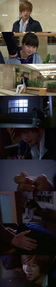 ~ Empathy is your pain in my heart. ~ Geum Jan Di and Yoon Ji Hoo, Boys Over Flowers, Ku Hye Sun, Kim Hyun Joong #KDrama