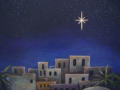 bethlehem outside scenery nativity backdrop - Google Search