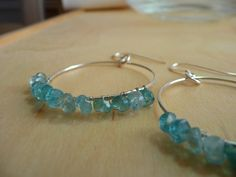 W A Y F A R E R  Sterling Silver Hoop Earrings with by MandyLemig, $38.00