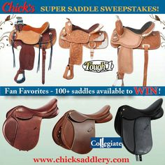 Chicks saddlery contest!