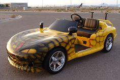 Viper Golf Cart.