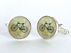 Hey, I found this really awesome Etsy listing at https://www.etsy.com/listing/188068024/vintage-bicycle-cufflinks-silver-plated