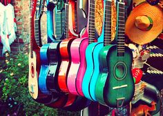 spanish guitar photography music photo gift for musician, colorful rainbow, LA latin inspired southwest decor, musical instrument, kids room Club Monaco, What's My Favorite Color, Favorite Things, Guitar Photos, Southwest Decor, Southwest Style, Hd Led, Music Photo, Impressionism