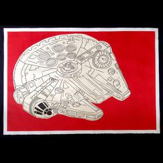 Millenium Falcon now featured on Fab. Ship Sketch, Millenium Falcon, Illustration Art, Illustrations, Tech Accessories, Geek Stuff, Sketches, Space Ship, My Love