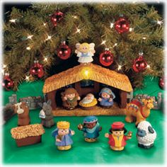 Little People Deluxe Nativity Set - Fisher Price Toys - Little People My kids are a little old for this but I want one anyway. Good to have a play one.