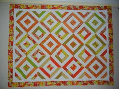 Summer in the park quilt in a beautiful color pallette Quilting Projects, Quilting Designs, Quilting Ideas, Jellyroll Quilts, Scrappy Quilts, Cool Patterns, Sewing Patterns, Summer In The Park, Baby Fabric