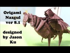 Origami Nazgul ver 8.1 Tutorial ( Jason Ku ) - YouTube