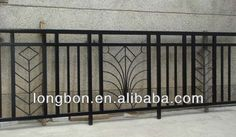 2014 Top-selling Modern Wrought Iron Fancy Balcony Railing Buy Source by ApartmentBD. Metal Stair Railing, Iron Balcony, Modern Balcony, Iron Railings Outdoor, Balcony Railing Design, Modern Gate, Staircase Railing Design, Door Design Modern, Stairs Design Modern