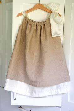 Sewing : Double Layer Pillowcase Dresses (Tutorial)