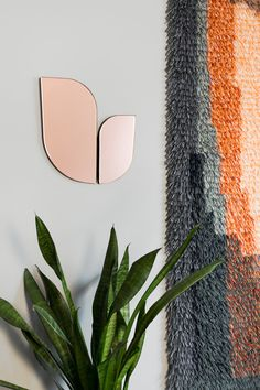 The Perho Mirror Was Inspired by the Wings of Birds and Butterflies - Design Milk