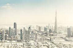 Photo Dubai Aerial I - Johannes Heuckeroth