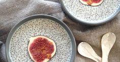 Recept na snadný puding s chia semínky bez vaření