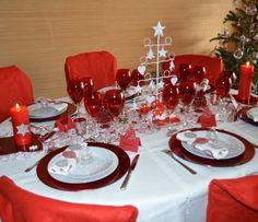 Table de f te traditionnelle chic autour de la table - Table de noel traditionnelle ...