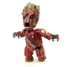 Custom LEGO Guardians of the Galaxy Life-Size Baby Groot Instructions, Parts List
