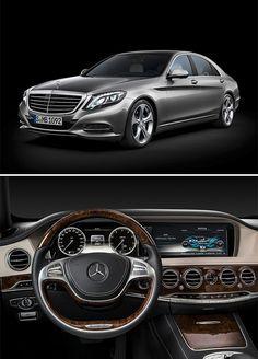 2014 Mercedes-Benz S-Class.