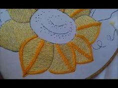 [Puntada] Pétalos - Niña Girasol   Bordados con Isa - YouTube