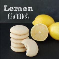 Cookie Recipe Swap - Lemon Chewies | Endlessly Inspired