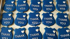 1 Dozen Sugar Cookies. Police Badge Thank You Cookies Cookies are 4 inches  No Peanut Products  All cookies are shipped heat sealed and