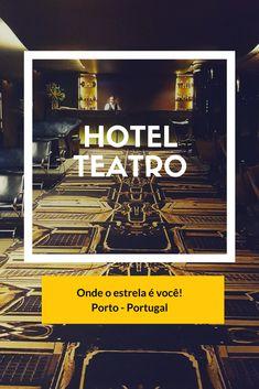 O Hotel Teatro é membro da coleção internacional Design Hotel, e faz por merecer. O hotel fica a 5 minutos a pé de algumas das principais atrações da cidade, como a Estação São Bento, a Torre dos Clérigos, a Rua das Flores, a Livraria Lello, o famoso Café Majestic, e muito mais.