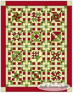 Apple Avenue Quilts: 2013 Free Block of the Month