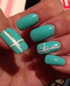 Tiffany Present by AllieK from Nail Art Gallery