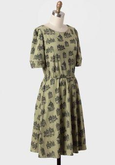 Homeward Bound Print Indie Dress | Modern Vintage New Arrivals
