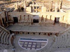 Teatro romano. Éste está muy bien conservado