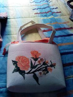 Bolsa de manta pintada