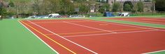 Acrylic Painted Sports Surfaces in Melksham | Sport Court Water Based Paint in Melksham : Tennis Court Contractors