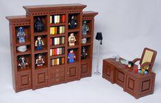 Letranger Absurde - Legopedia ~ Geeky Office Furniture by Lestranger Absurde Informationen zu Letrange - Lego Display, Lego Design, Lego Duplo, Lego Furniture, Office Furniture, Legos, Minecraft Lego, Minecraft Houses, Lego Haunted House