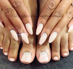 Beautiful nails and matching ties by Diamond Dolls Beauty, Derby