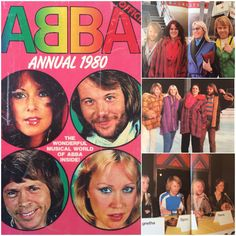 Visit my blog to read about the 1980 Abba Annual #Abba #Agnetha #Frida http://abbafansblog.blogspot.co.uk/2015/01/1980-abba-annual.html